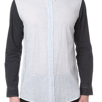 Blackbird - Robert Geller - Contrast Sleeve Shirt
