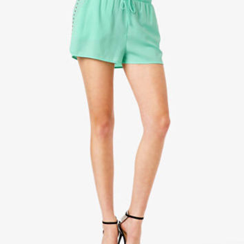 FOREVER 21 Studded Dolphin Shorts