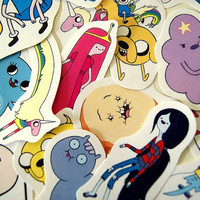 Adventure Time sticker pack (set 1)