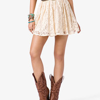 Darling Lace Skirt | FOREVER 21 - 2047955635