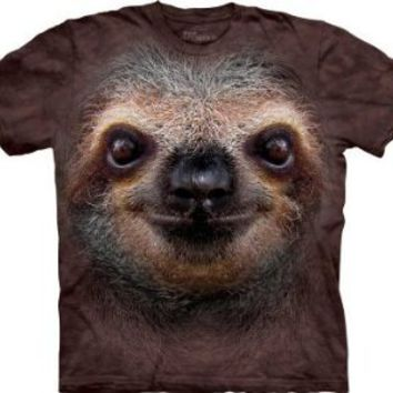 Amazon.com: The Mountain - Youth Sloth Face T-Shirt: Clothing
