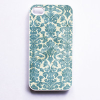 iPhone 4 Case Vintage Damask
