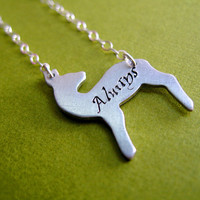 Harry Potter - Snape&#x27;s Patronus Necklace: Always - Doe Patronus Necklace