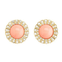 Shimmering Sunburst Stud Earrings: Charlotte Russe