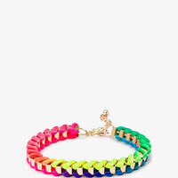 Rope Chain Link Bracelet