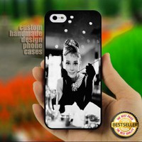 Audrey Hepburn II - Print on Hard - Print on Hard Cover for iPhone 5