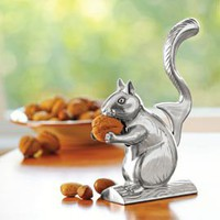 Nutty Squirrel Nutcracker, Metal Squirrel Nutcracker | Solutions