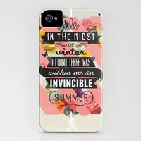 The Invincible Summer iPhone Case | Print Shop