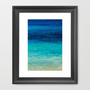 SEA BEAUTY Framed Art Print by catspaws | Society6