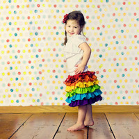 Rainbow skirt  by SweetSapling