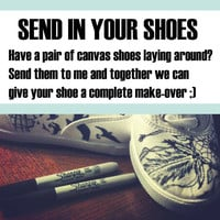 Send in your shoes by BreakFreeDesigns on Etsy
