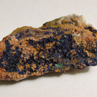Mineral Specimen - Azurite, Malachite - Touissit, Oujda-Angad Prov., Morocco
