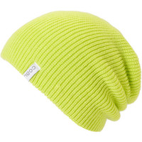 Coal Girls Frena Yellow Knit Beanie