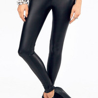 Matte Leather Leggings $30