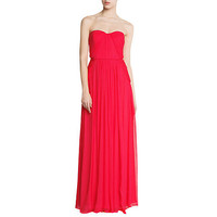Buy Mango Strapless Maxi Gown online at John Lewis