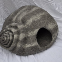 "cat-cave ""snail with stripes""any colour you like"