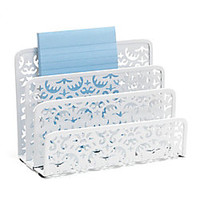 Realspace Brocade Letter Sorter White by Office Depot