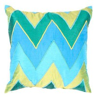 18&#34 Chevron Stripe Pillow - Shades of Light