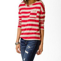 Striped Pocket Top | FOREVER 21 - 2000049728