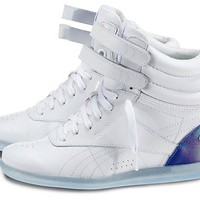 Reebok Women's Freestyle Hi Wedge - Alicia Keys Shoes | Official Reebok Store