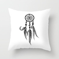 dreamcatcher Throw Pillow by MargelineAimee
