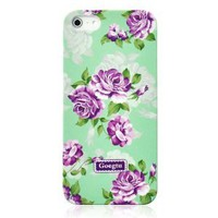 Retro Villatic Style Garden Frosted Phone Case For iPhone 5