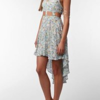 UrbanOutfitters.com > Reverse Lattice Waist High/Low Dress