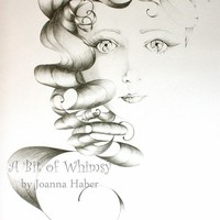 Beauty an Original Drawing Fine art Fantasy by ABitofWhimsyArt