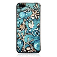 Cool iPhone 5 Case With Embossment - Coral Sea
