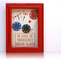 Dead Mans Hand  Poker Survival Kit  In Case of by ClosetCat