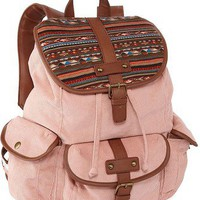 Olsenboye Cord Ethnic Backpack