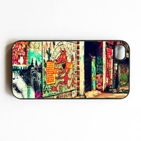 Iphone Case The Streets Grafitti Street Art by SSCphotographycases