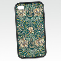 iPhone Silicone Case William Morris by DecorativeDesignWKS on Etsy