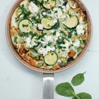 Egg White + Greens Frittata : The Healthy Chef  Teresa Cutter