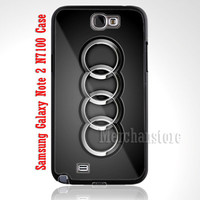 Audi Car sports driving Custom Case for Samsung Galaxy Note 2 N7100