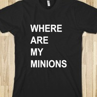Where Are My Minions - Alice Flynn