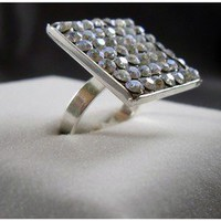 Starry Sky Ring by LeelaBijou on Etsy