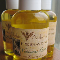VETIVER & LIME Preshave Oil 3 oz by BeehiveAlchemy on Etsy