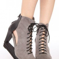 Abierto Cutout Wedge | NASTY GAL | Jeffrey Campbell shoes, Evil Twin, MinkPink, BB Dakota, vintage dresses + more!