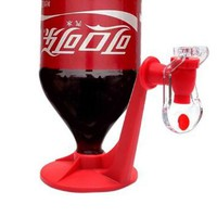 Portable Drinking Soda Dispense Gadget Cool Fizz Saver Dispenser Water Machine: Kitchen & Dining