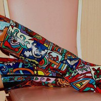 Over the Knee Work of Art Boot