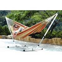 Stansport Doubleb Brazilian Hammock and Stand Combo