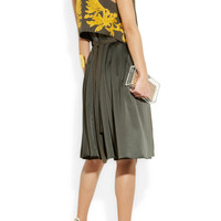 Maiyet | Hand-embroidered linen-blend dress | NET-A-PORTER.COM