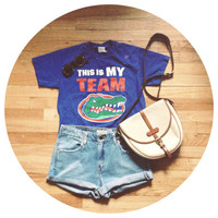 30 off CLEARANCE SALE  Vintage Florida Gators Shirt  by awildtonic