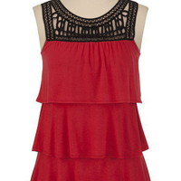 Beaded Soutash Ruffle Tank - maurices.com
