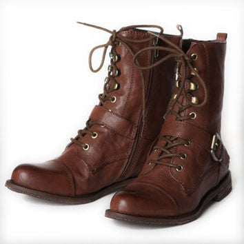 OTBT Hutchinson tire track lace up boots