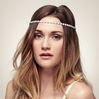Starry Night Swarovski Bridal Halo Headband by shopelizabethperry