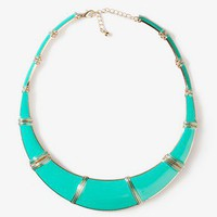 Lacquered Bib Necklace | FOREVER 21 - 1027704206