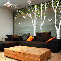 Wall Decal Art Wall Sticker Tree Decal - forest tree Wall decal