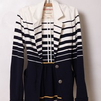 Striped Captain Blazer